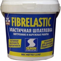 Шпатлевка эластичная усиленная фиброволокном FIBRELASTIK SEMIN 1,5кг..