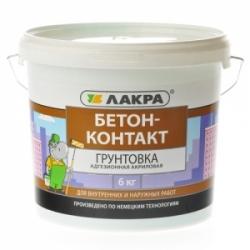 Грунт BETON-KONTAKT 6 кг Лакра