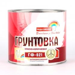Грунт ГФ-021 красно-коричневый 2,7 кг. Радуга