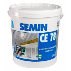 Шпатлевка многофункциональная CE 78 NEW SEMIN 25 кг