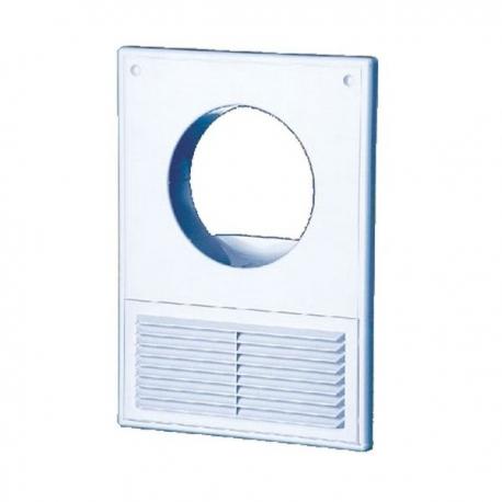 Вентиляционная решетка 100 КС с отверстием