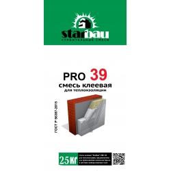 Смесь клеевая для теплоизоляции PRO39 StarBau 25кг
