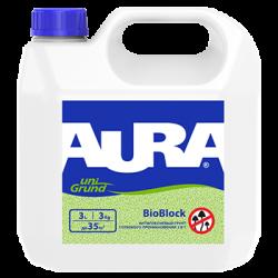 Грунт Aura BioBlock 5л антиплесневый глубокого проникновения