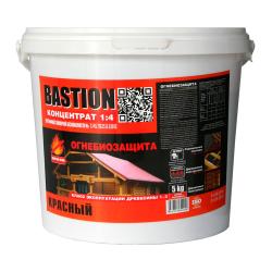 Деревозащитный состав BASTION 1:4 концентрат/ 5кг. КРАСНЫЙ