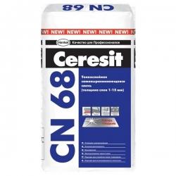CN 68 Самовыравнивающая 1-15мм. 25 кг. CERESIT