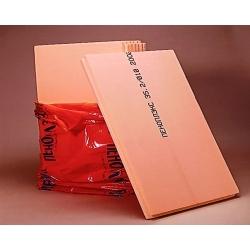 Экструд. Пенополистирол 20мм.0.69м.кв. (0,585х1,185) Оранжевый Пеноплэкс