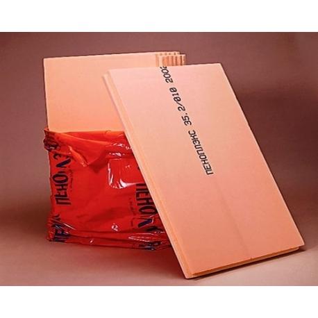 Экструд. Пенополистирол 30мм.0.69м.кв. (0,585х1,185) Оранжевый Пеноплэкс