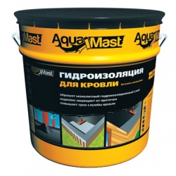 Мастика AquaMast 10 кг. Битумно-резиновая для кровли