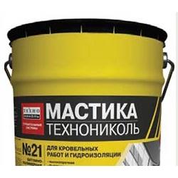 Мастика кровельная ТЕХНОНИКОЛЬ №21 (Техномаст) 10кг.