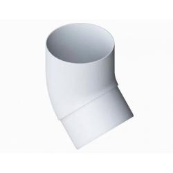 Колено трубы белое 45 Альта Профиль