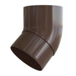 Колено трубы коричневое 45грд. Альта Профиль