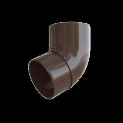 Колено трубы коричневое 67грд. Альта Профиль