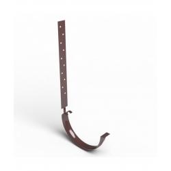 Кронштейн желоба прямой МЕТАЛЛ 125 мм. коричневый Альта Профиль