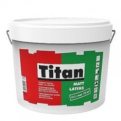 Краска матовая Titan Mattlatex 10 л. латексная
