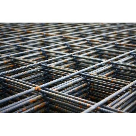 Сетка метал. 2,5мм (1х2) 100х100 армирован.