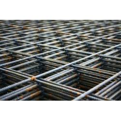 Сетка метал. 4мм (1х2) 100х100 армирован.