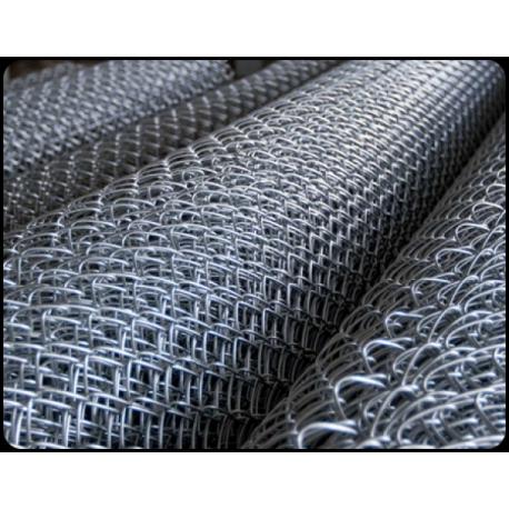 Сетка рабица ОЦИНКОВ. 1,5 м.х10 м.(50х50) d1,6мм