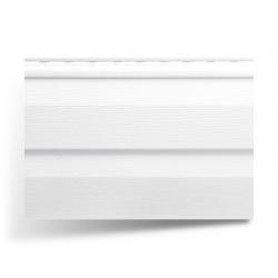 Сайдинг виниловый белый 3,66х0,230 Альта Профиль Т-01