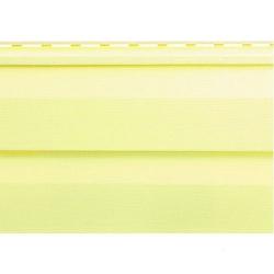 Сайдинг виниловый лимонный 3,66х0,230 Альта Профиль Т-01