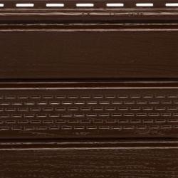 Планка СОФИТ с частичн. перфорацией Альта Профиль коричневая Т-19 3м.х0,23м.