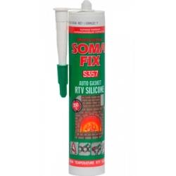 Герметик силиконовый SOMA FIX 310мл. для ВЫСОКИХ температур 1112