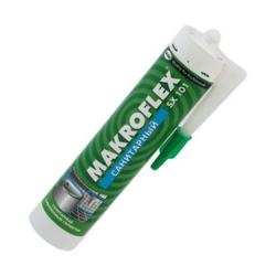 Герметик Макрофлекс SX 101 белый(прозрачн.) 290мл силиконовый санитарный